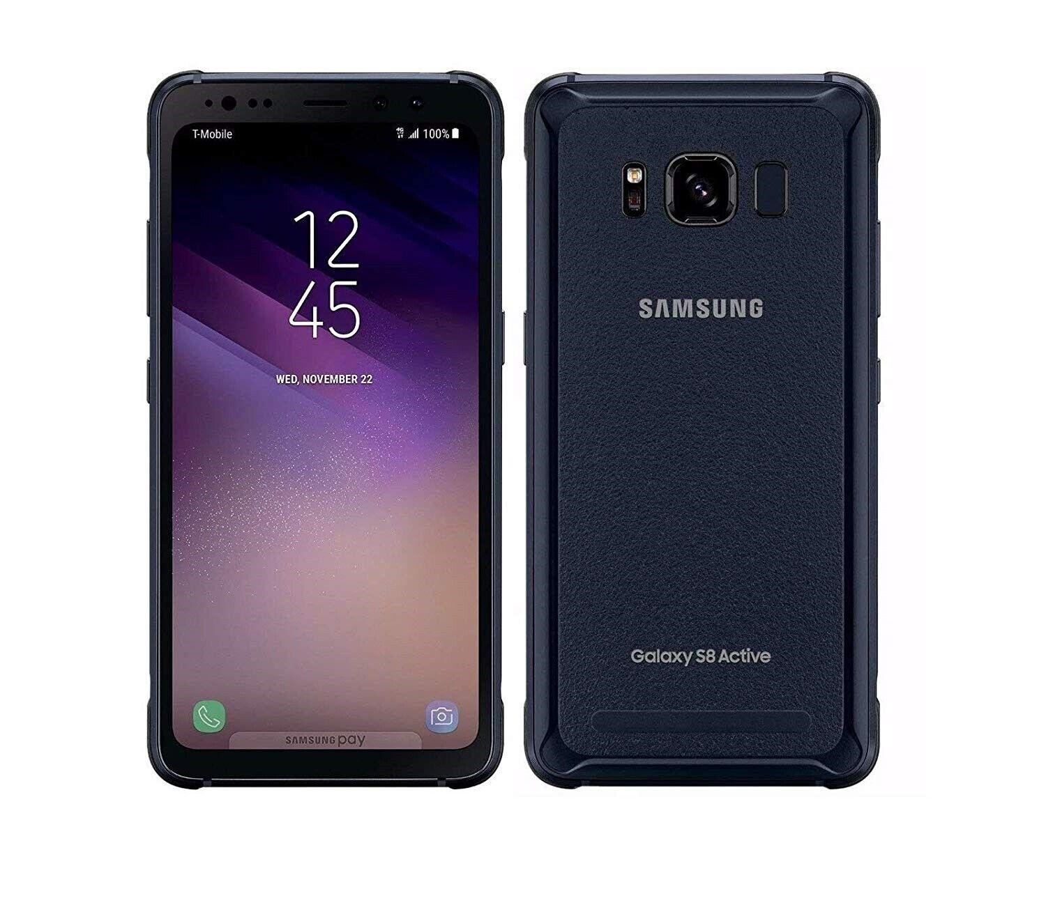 Android Phone - Samsung Galaxy S8 Active 64gb Meteor Gray AT&T Unlocked Fully Works Discounted!