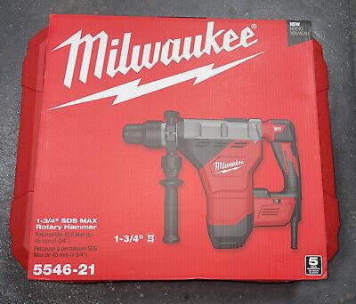 Milwaukee 5546-21 1-34 Inch Sds Max Combination Rotary Hammer