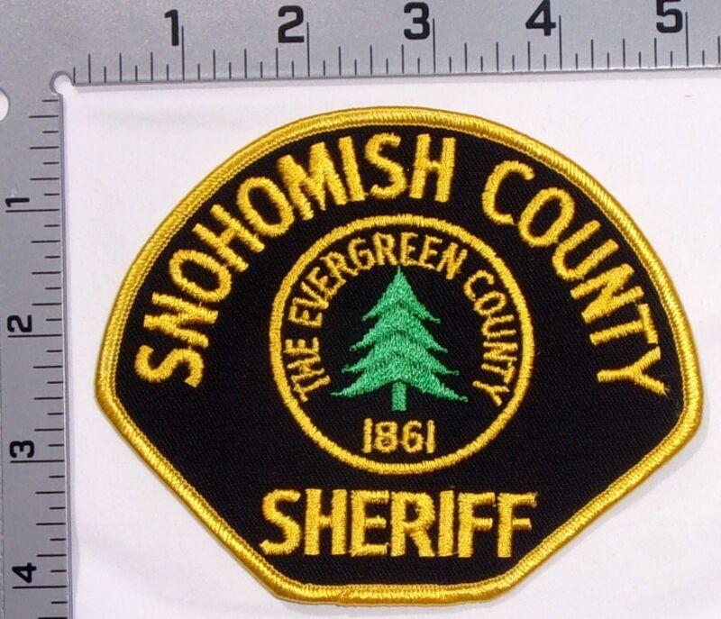 Snohomish County Washington Sheriff