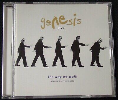 Genesis - Live: The Way We Walk, Vol. 1 (The Shorts) CD (1992,