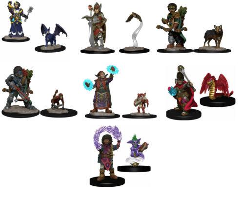 Lot of 7 WizKids Wardlings Painted Miniatures D&D Dungeons & Dragons