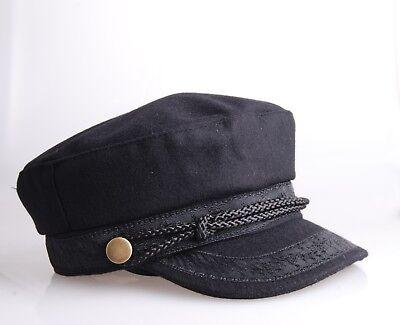 Greek Fisherman cap/Breton Cap/coppola da marinaio/casquette de marin  58 & 59cm