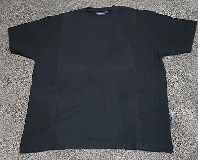 Kangol Black T Shirt Size Small Round Neck Cotton Short Sleeve - Mens Guys Boys