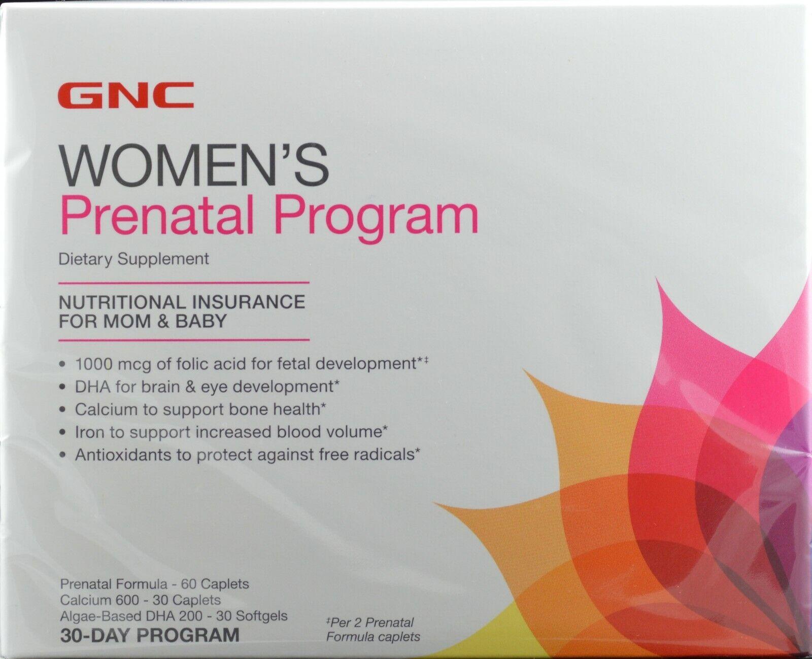 women t prenatal program 30 packs multi