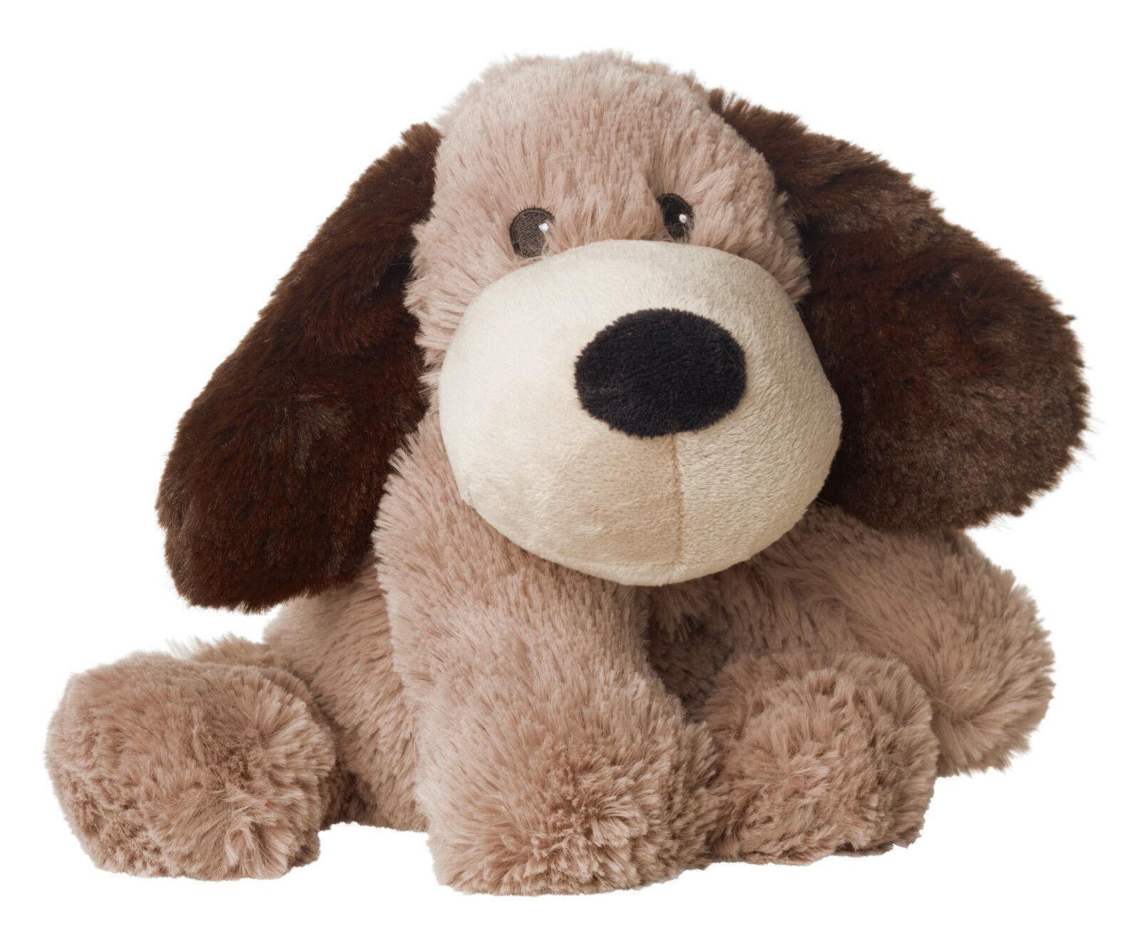 Original Warmies Greenlife Wärmestofftier Wärmekissen Körnerkissen Wärmetier NEU Hund Gary II