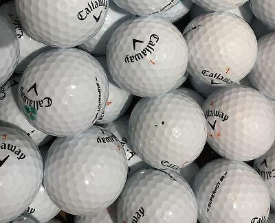 100 Lakeballs im  Premium-Markenmix AAA/AA  incl. Callaway/Titleist/Taylor Made