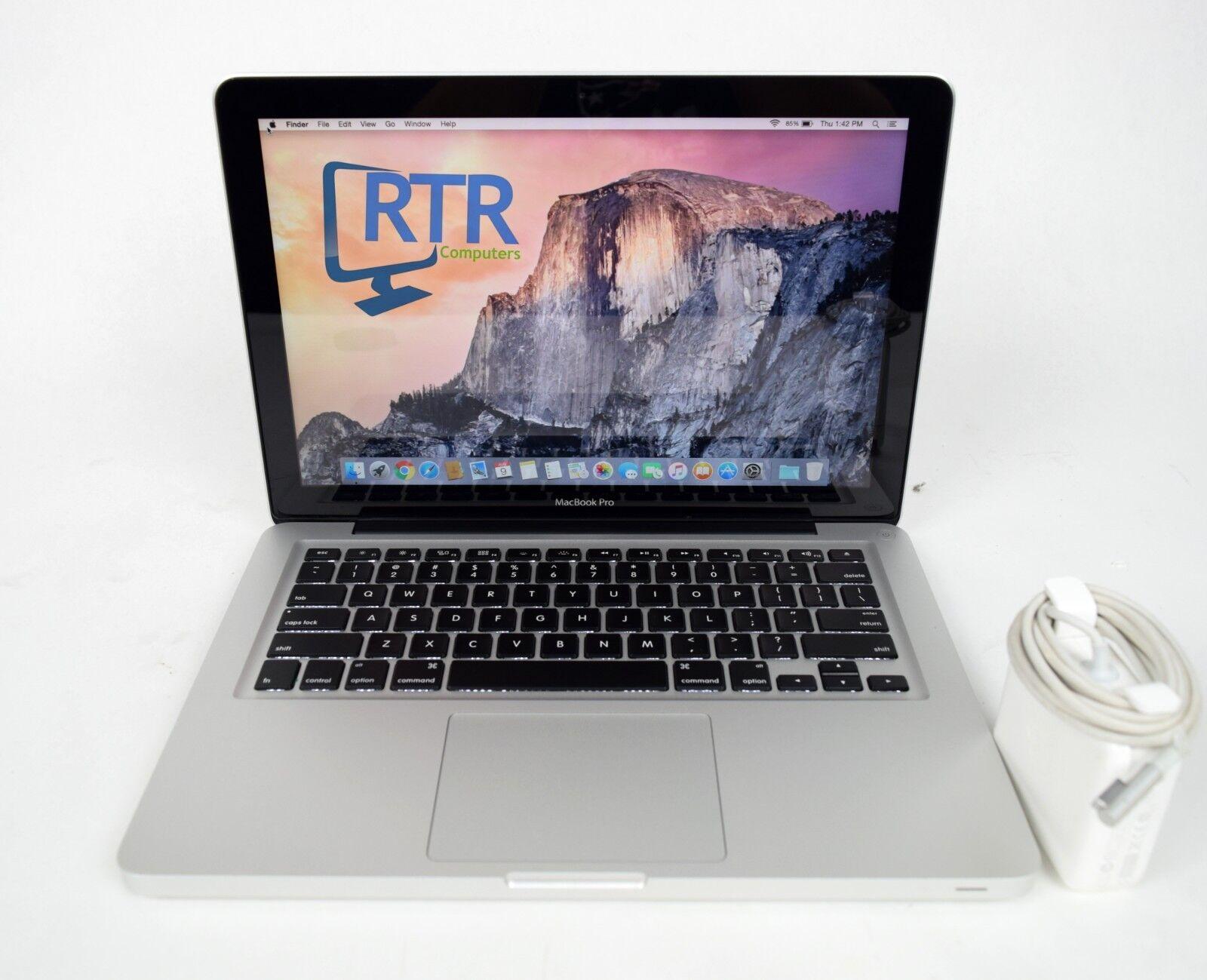 "Apple Macbook Pro 2012 13.3"" LCD MD101LL/A i5 2.5GHz 4/8/16GB RAM 128GB+ HDD/SSD"