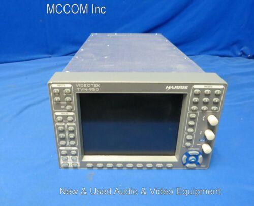 Videotek TVM-950 Waveform/ Vector Monitor - Doesn