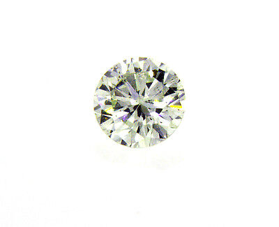 Diamond Rare Fancy Yellow Green Color Round Cut Loose 0.23 CT SI1 GIA Certified