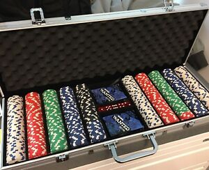 Poker Chip Set (500 pcs) + New Aluminum Case