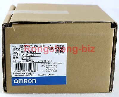 New Original Omron E5ac-rx3asm-800 Temperature Controller 100vac 240vac