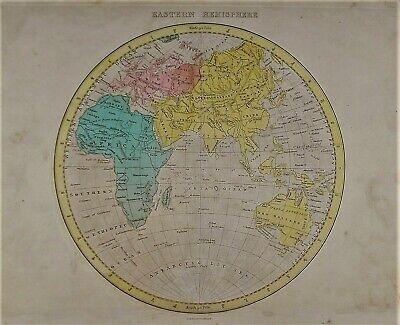1720 Old World Map Mappemonde du Roy 20x30