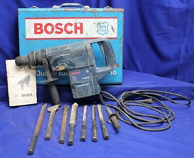 Bosch 11227e 1-12-inch Sds-max Rotary Hammer W Bits Case