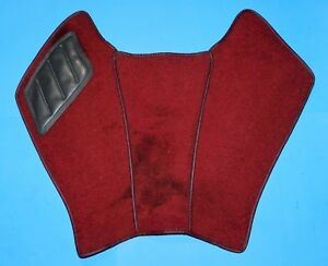 MERCEDES-BENZ W111 W112 CENTER CONSOLE CARPET - RED