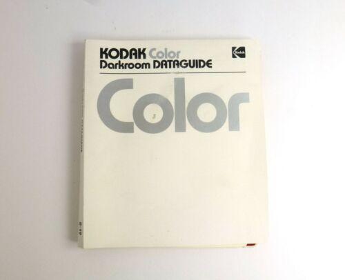 Kodak Color Darkroom Dataguide R-19 1980