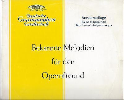 DGG 25 cm LP von 1960 : Peter Anders - Anny Schlemm - Georg Hann