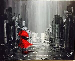 """""""A walk in the rain"""" St. John's Newfoundland image 1"""