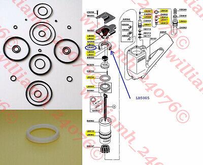 Senco Finish Nailer Sfn2 Sfn2-b Sfnii O Ring Kit Lb5005 Seal