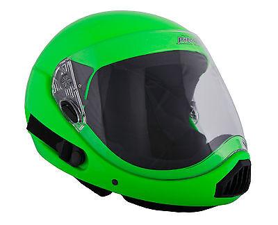 ~ NEW~ PHANTOM XV ~ Full Face Skydiving Helmet from SQ1~ LARGE ~ GREEN