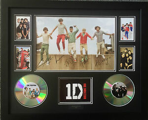 ONE DIRECTION SIGNED LIMITED EDITION FRAMED MEMORABILIA