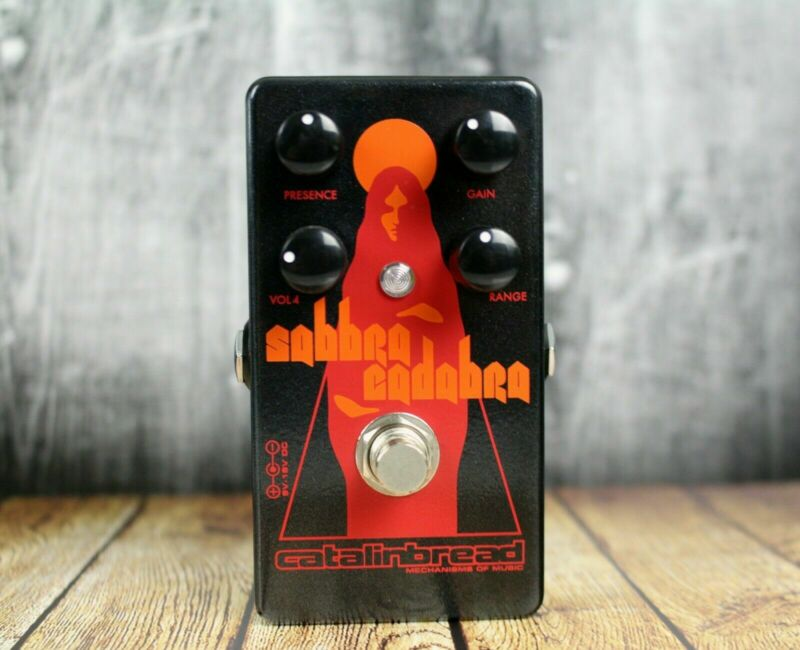 Catalinbread Sabbra Cadabra Overdrive Guitar Effect Effects Pedal NEW
