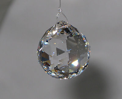 10PCS Clear Crystal Glass Chandelier Light Ball Lamp Prisms Drop Pendant 20MM