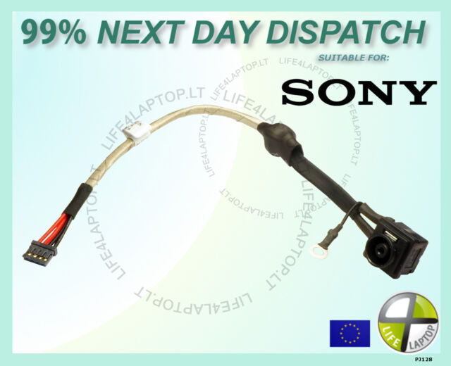 Sony Vaio PCG-81112M PCG-81115L DC Power Jack Socket Connector with Cable NEW