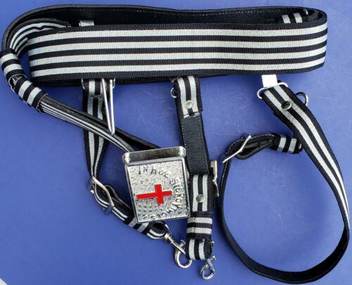 KNIGHTS TEMPLAR Sword Belt & Buckle for Sir Knight Waist Size 44