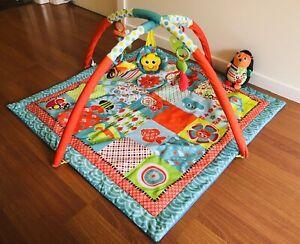 Playgro Children's Floor Activity Mat / Play Gym