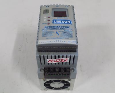 Leeson Sm Plus Series Speedmaster Adjustable Speed Ac Motor Control 174463