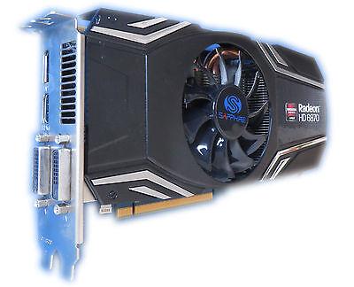 Tarjeta Gráfica Radeon HD 6870 Sapphire 1gb Pcie para Pc/Mac pro 3.1/5.1 #70 segunda mano  Embacar hacia Spain