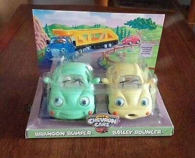 The Chevron Cars Brandon Bumper and Bailey Bouncer-NIB