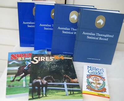 Australian Thoroughbred Statistical Record - Volumes 1 - 4