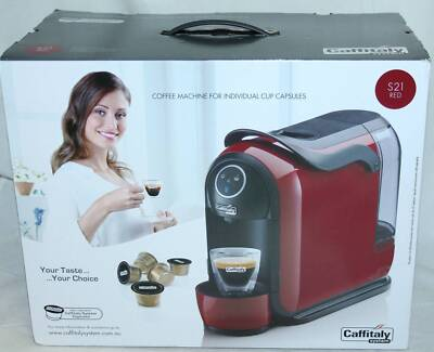 Caffitaly S21 Espresso Coffee Machine RED Macquarie Park Ryde Area Preview