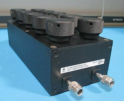 Wainwright Tunable Band Reject Filter Wrct 18502170-540-10ssk 2.17 Ghz Gs139