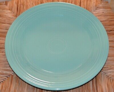 Seamist Green Fiestaware Dinner Plate Retired in excellent condition