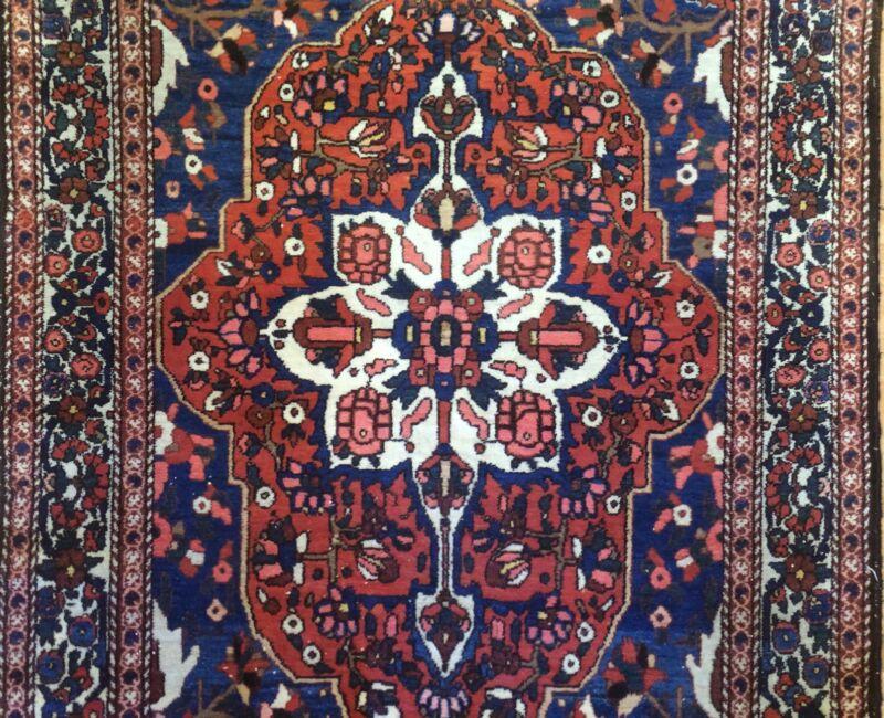 Terrific Tribal - 1930s Antique Oriental Rug - Nomadic Carpet - 5.4 X 10.1 Ft.