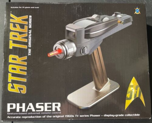 The Wand Company Star Trek Phaser NEW IN BOX 'Sullys Hobbies'