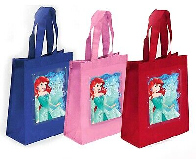 Little Mermaid Party Favor Treat Goody Bags-Fabric - 10