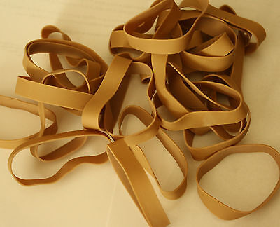 25 Rubber Bands by Alliance Size #84 - 3 1/2 x 1/2 - Strong, Large, Wide - New