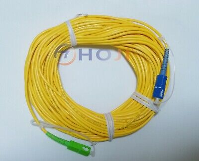 20M long Fiber optical jumper patch cord cables SC/APC-SC/UPC Connector wholesal