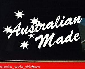 Australian Made + Southern Cross Aussie BNS Custom 4x4 Car ute Bumper Stickers