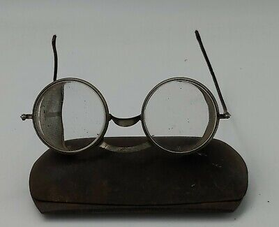 vintage retro steampunk glasses Round