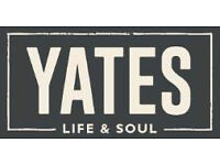 Yates COLCHESTER Bar Team Member (PART TIME) - Colchester, Essex