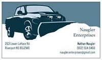 Snowplowing Services! Book Early to Guarantee Service!