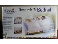 White Childres Bed Rail / Bed Guard
