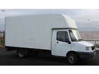 very large van available for single items, part load, and removals. A man with a BIG van