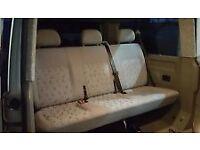 vw t5 rear seats £ 275