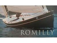 ROMILLY 22 , DAYSAILER, GORGEOUS, STRIP PLANK , £13500