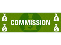 """Comission only job at hand"""" Apply now!"""